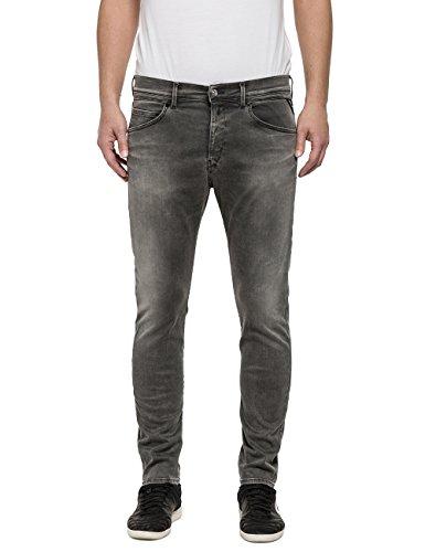 Uomo grey Ezhir Denim Jeans Grigio Replay nAYEfS