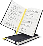 SELF Journal by BestSelf — Undated Daily, Weekly and Monthly Life Planner Organizer with Proven Productivity and Positivity System for Maximum Achievement and Goal Success — Charcoal Notebook
