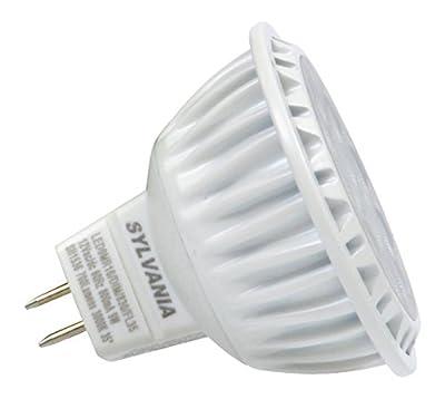 SYLVANIA Ultra LED Light Bulb dimmable 9W Replacing 50W Halogen MR16 12V / G4 Bi-Pin Base / 3000K - warm white