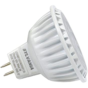 SYLVANIA Ultra LED Light Bulb dimmable 9W Replacing 50W Halogen MR16 12V / G4 Bi-Pin Base / 3000K - warm white