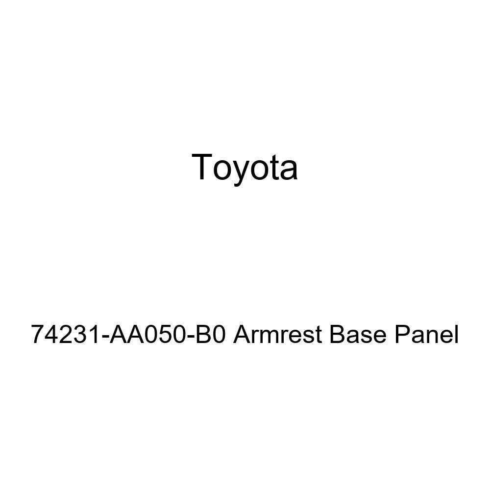 TOYOTA Genuine 74231-AA050-B0 Armrest Base Panel