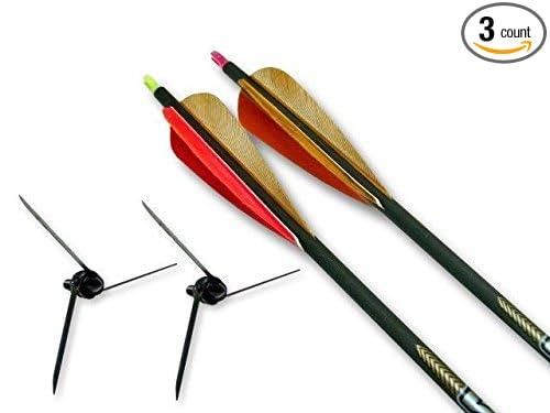 Magnus Bullhead kit//2-125 grain//2 .300 arrows