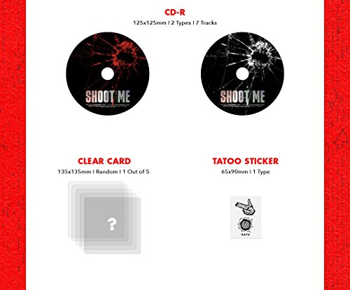JYP Entertainment DAY6 - Shoot Me : Youth Part 1 [Random ver