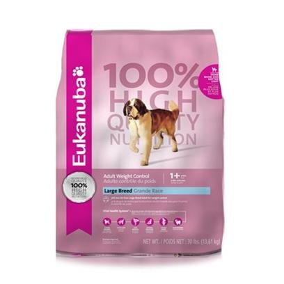 Eukanuba Adult Large Breed Weight Control Formula Dry Dog Food, My Pet Supplies