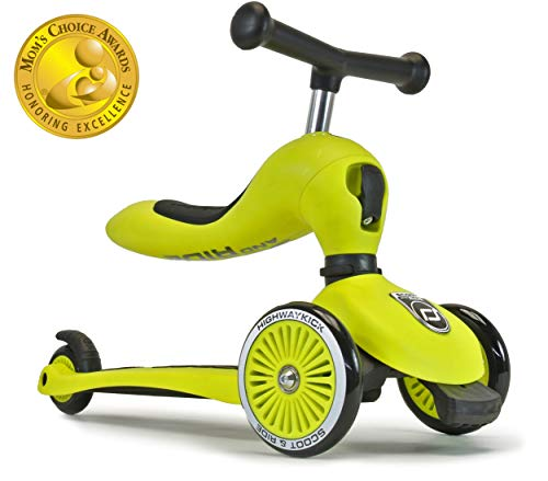 Scoot & Ride 2-in-1 Bike & Kick Scooter Combo for Children Ages 1-5 Years Old...