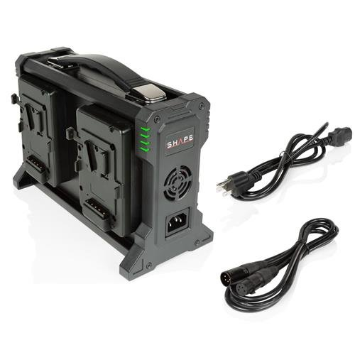 Shape Full Play 100-240V Intelligent Charger for 4-Channel V-Mount Lithium-Ion Battery by Shape (Image #2)