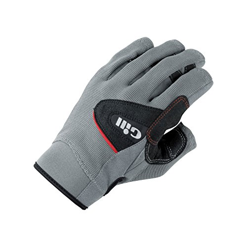 Deckhand Gloves - Gill Men's S/F Deckhand Glove Black/Gray 2XL