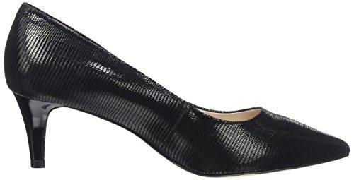 Caprice Nero Reptile Donna 10 Black Scarpe 22415 con Tacco rnAwqUprT