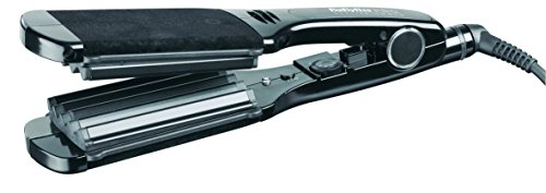 Babyliss Pro Black Crimpin Iron Ceramic Plates with 25 Heat Settings...