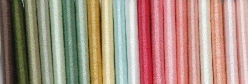 River Silks Art Nouveau Collection - 4mm Silk Ribbons