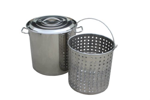 60 quart stock pot basket - 7