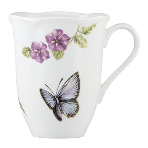 Meadow Butterfly Coffee - Lenox 829041 Butterfly Meadow Bloom Dinnerware Mug