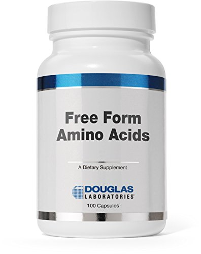 Douglas Laboratories® - Free Form Amino Capsules - Balanced Mixture of Amino Acids to Support Overall Health* - 100 Capsules