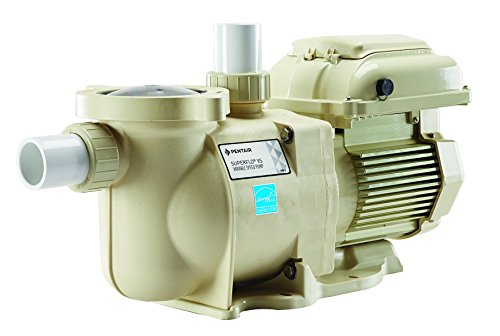 Pentair 342001 SuperFlo VS Variable Speed Pool Pump, 1 1/2 Horsepower, 115/208-230 Volt, 1 Phase - Energy Star (1/2 Hp Single Speed Pump)
