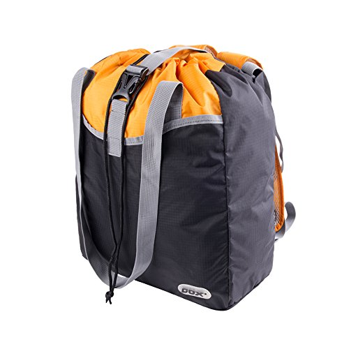GOX Foldable Backpack,Lightweight Hiking Daypack,Durable Packable Bag With Water Resistant