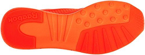 Reebok Mænds Zoku Runner Hm Sneaker Sol Orange / Sort / Hvid apBwy