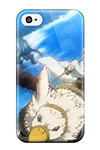 Protective Tpu Case With Fashion Design For Iphone 4/4s Log Horizon