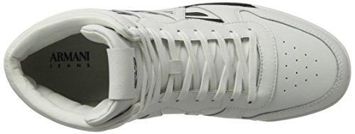 Armani Sneaker High Cut - Zapatillas Hombre Blanco (Bianco)