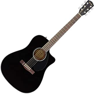 fender cd 60s dreadnought acoustic guitar natural bundle with hard case tuner strap strings. Black Bedroom Furniture Sets. Home Design Ideas