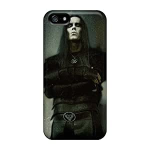 Best Hard Phone Cover For Iphone 5/5s With Support Your Personal Customized Nice Megadeth Band Pattern JamieBratt