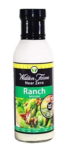 Walden Farms, Dressing, Ranch, Low Calorie, Fat Free, 12 oz