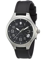 Victorinox Swiss Army Mens 241470 Base camp Black Date Dial Watch Watch