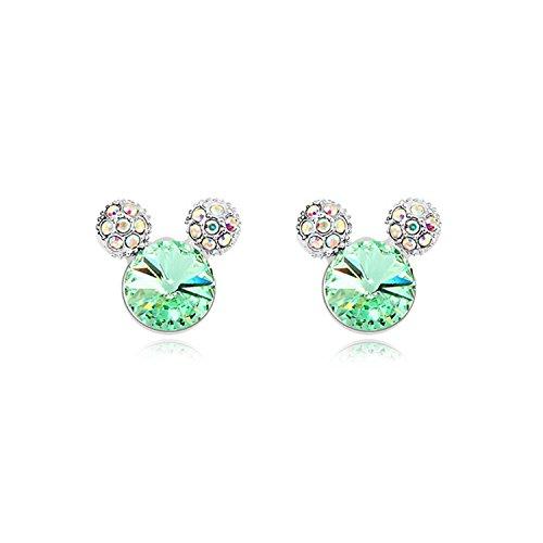 Ablaze Jin Elements Crystal Earrings Innocence Mickey Fashion Earrings,Your -
