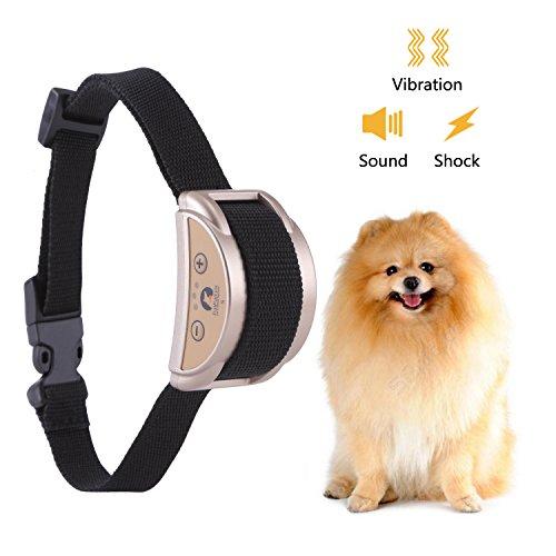 ProCollar Bark Collar [2018 Upgrade Version] No Bark Collar Dog Small Bark Collar Shock Collar with Beep Vibration Harmless Shock Rechargeable Anti Bark Control Device for Small Medium Large Dog by ProCollar