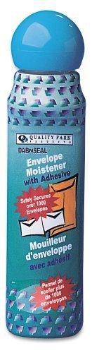 3 X Quality Park Dab-n-Seal Envelope Moistener, 50 ml, 1 Bottle (46065) by Quality Park