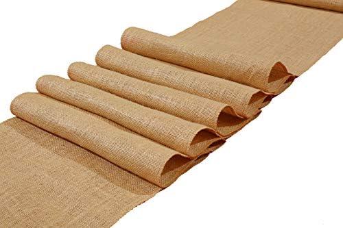 Eloine Linen Burlap Runner inches product image