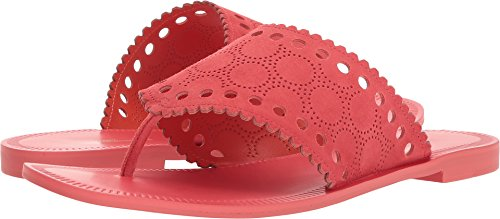 Diane von Furstenberg Women's Ekati Thong Sandal Vintage Pink 6 B US