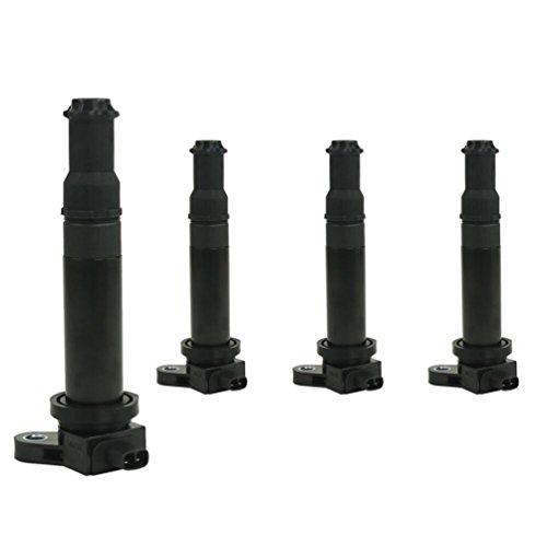 ZBN Ignition Coils UF499 27301-26640 C1543 Kia Rio Sport Kia OEM Parts Ignition Coil Parts 4 Packs