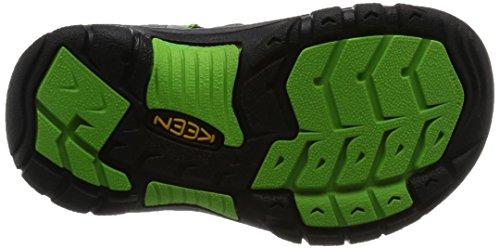 Keen Newport H2 Zapatillas de Senderismo, Unisex Niños Gris (Racer Gray)