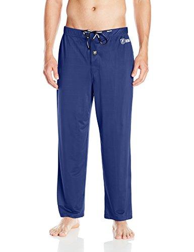 Spandex Sleep Pant (Stacy Adams Men's Regular Sleep Pant, Navy, Medium)