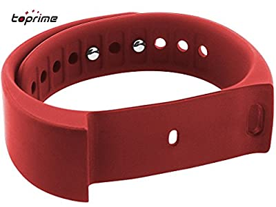 Toprime174; 1 Pcs Replacement Wristband for I5 Plus Red