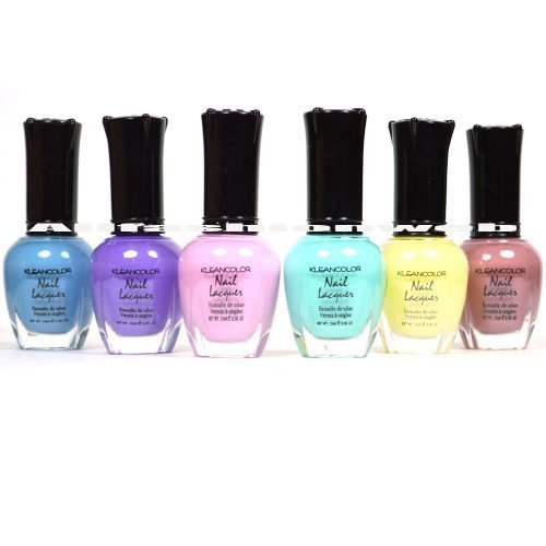 Kleancolor Nail Polish PASTEL SET! Lot of 6 Lacquer for sale  Delivered anywhere in Canada