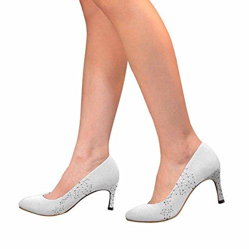 Zapatos De La Bomba Del Vestido De Tacón Alto De La Moda Clásica Para Mujeres De Interestprint