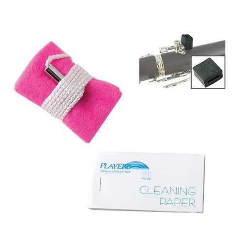 Clarinet Players Kit - Cleaning Paper, Clarinet thumb eze & Cloth Clarinet_Accessories Clarinet Pack