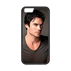 iPhone 6 4.7 Case, [Ian Joseph Somerhalder] iPhone 6 4.7 () Case Custom Durable Case Cover for iPhone6 4.7 TPU case(Laser Technology)