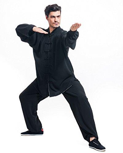 Buy kung fu pants black