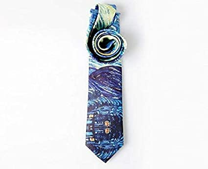 SYAyeah Cartoons Dog Pattern Fashion Men Solid Color Neckties for Formal Or Casual Occasions