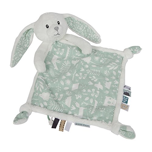 LITTLE DUTCH 4629 Kuscheltuch Hase adventure mint