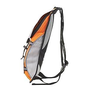 [KuYou]Hydration Pack Water Rucksack Backpack Bladder Bag Cycling Bicycle Bike/Hiking Climbing Pouch + 2L Hydration Bladder,(Orange+Water Pouch)