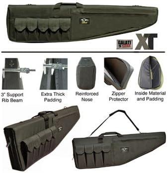 B002PAOH48 Galati 45 inch Premium XT Rifle Case - Black - Galati Gear 414kyZKpsfL.