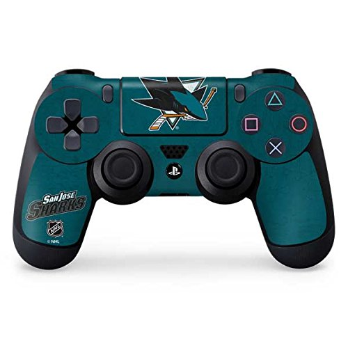 Price comparison product image San Jose Sharks PS4 Controller Skin - San Jose Sharks Distressed | NHL & Skinit Skin