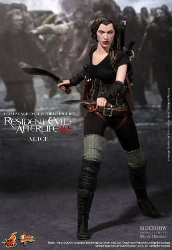 Amazon Com Resident Evil Afterlife 12 Figure Alice By Hot Toys