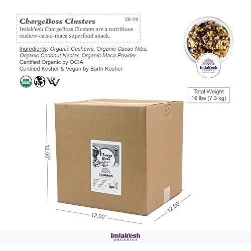 Imlak'esh Organics ChargeBoss Clusters, 16-Pound Bulk Box by Imlak'esh Organics (Image #1)