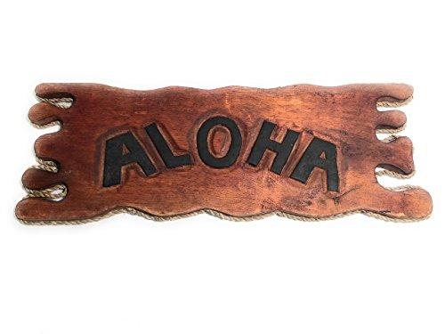 (Aloha Sign Driftwood 20