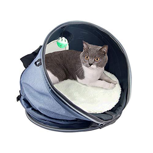 Petneces Cat Cuddle Cave Bed DIY - Pet Sleep Zone Bed Play T