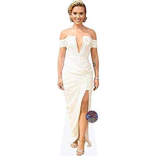 (Scarlett Johansson (White Dress) Mini Cutout)